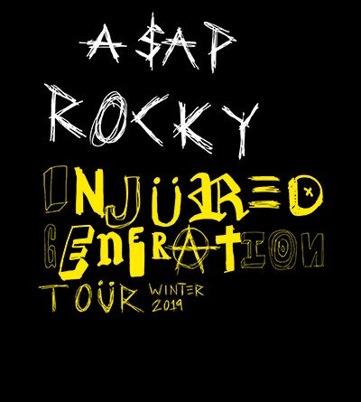 Tickets | A$AP Rocky Injured Generation Tour VIP PACKAGES